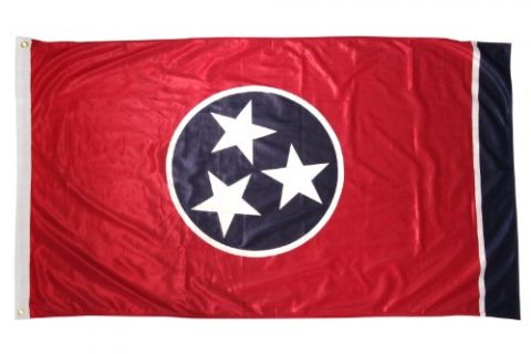 Online Stores Tennessee Superknit Polyester Flag, 3 by 5-Feet