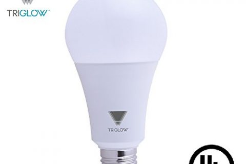 TriGlow T95441 22-Watt 150/200 Watt Equivalent LED A21 Bulb, DIMMABLE 3000K Soft White Color 2550 Lumens, UL Listed