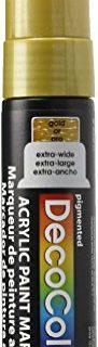 Uchida Of America 415-GLD 15 MM Decocolor Acrylic Marker, Gold