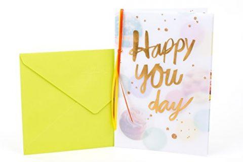 Hallmark Birthday Card Happy You Day