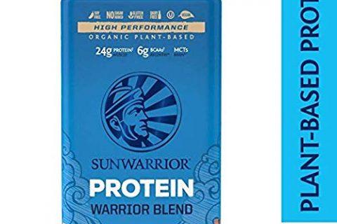 Warrior Blend, Plant Based, Raw Vegan Protein Powder with Peas & Hemp, Mocha, 30 Servings –  Sunwarrior