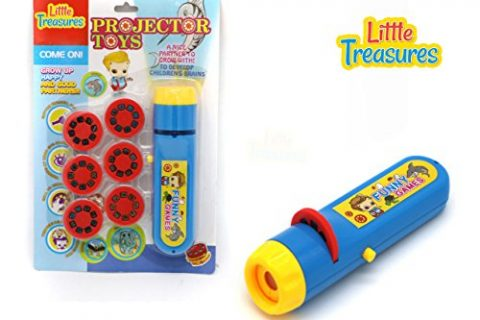 Little Treasures Petite Projector Torch Educational Toy Kids Can Develop Stories with the Wide Variety of Different Projecting Pictures