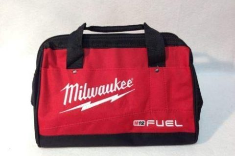 Milwaukee Heavy Duty FUEL Tool Bag. Fits 1-2 Tool Kit 2760-20, 2866-22, 2866-20, Fuel Screwgun and other Cordless Tools alike
