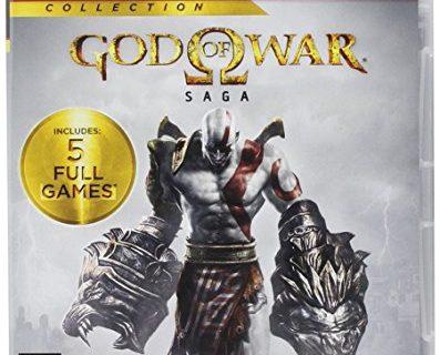 PS3 God of War: Saga Collection – 2 Disc