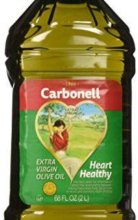 Carbonell Extra Virgin Olive Oil, Cooking Oil, 68 FL OZ. 2L