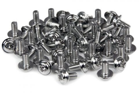 StarTech.com PC Mounting Computer Screws M3 x 1/4in Long Standoff – 50 Pack