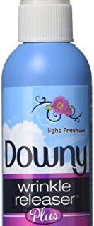 Downy Wrinkle Releaser Plus Light Fresh Scent, Travel Size, 3 Fluid Ounce