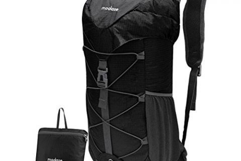 modase Backpack, Hiking Backpack, Large 40L Lightweight Water Resistant Travel Backpack Daypack Hip Belt Outdoor Climbing Camping Hiking Travel – Packable Hiking Daypack