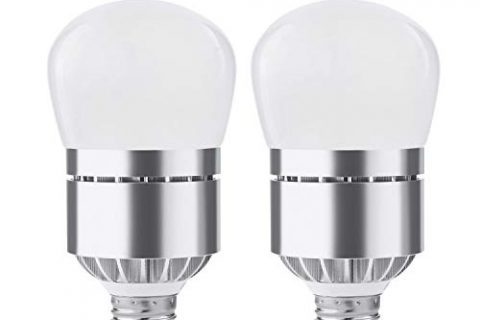 2 Pack Dusk Till Dawn Light Bulb, Witshine 100W Equivalent E26 Photo Sensor Light Bulb with Auto on/Off, Indoor/Outdoor Lighting Lamp for Porch, Hallway, Patio, Garage 12W Warm White
