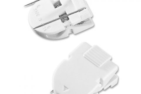 ADVANTUS Panel Wall Clip for Fabric Panels, Standard Size, 40-Sheet Capacity, Pack of 20, White 75301