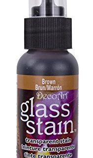 Transparent Glass Stain 2 Ounces-Brown