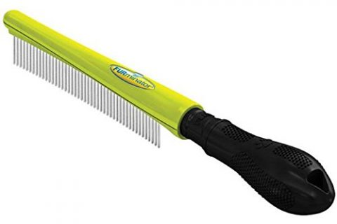 FURminator Finishing Dog Comb for All Coat Types, Large