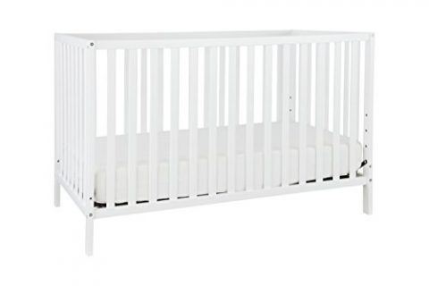Union 3-in-1 Convertible Crib, White
