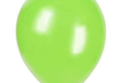 12″ Latex Lime Green Balloons, 72ct