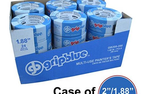 "GripBlue™ 2″ 1.88""/48mm X 60 YDs Multi-Use Blue Painters Tape 