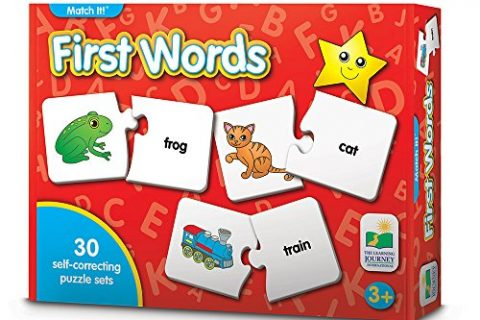 30 Self-Correcting Words with Matching Images For Emerging Readers – The Learning Journey: Match It! – First Words