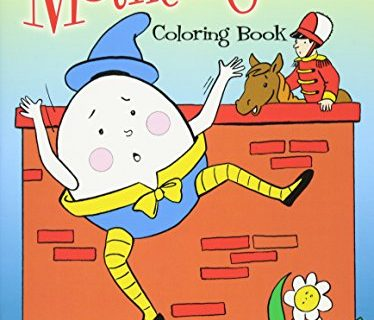 Mother Goose Coloring Book Dover Classic Stories Coloring Book