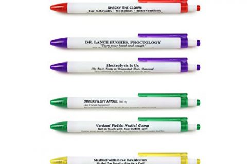 Fred BORROW MY PEN Subversive Pen Set, Set of 8