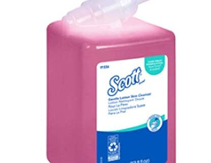 Scott 91556 Essential Skin Cleanser, Floral, 1000mL Refill Case of 6