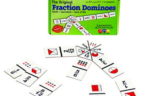 Learning Advantage The Original Fraction Dominoes Game Fraction Learning Game