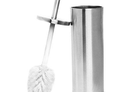 Estilo Stainless Steel Toilet Brush and Holder