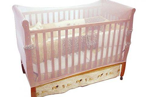 Jeep Crib Universal Size Crib Mosquito Net, White