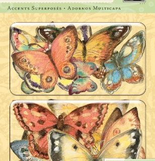 K&Company Susan Winget Layered Accents, Nature Butterfly