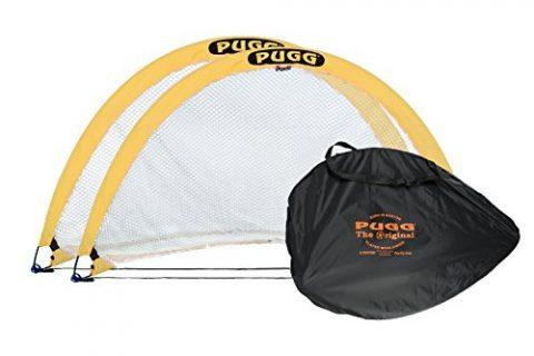 Portable Training Futsal Football Net – PUGG 6 Foot Pop Up Soccer Goal – The Original Pickup Game Goal 2 Goals and Bag