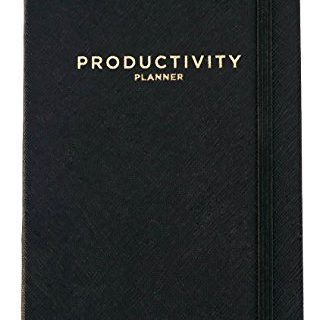 Accomplish your 2019 Goals – Productivity Planner – Daily Planner – Non Dated 5 x 8″