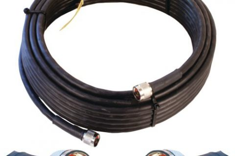 Wilson Electronics 50 ft. Black WILSON-400 Ultra Low Loss Coax Cable N-Male to NMale