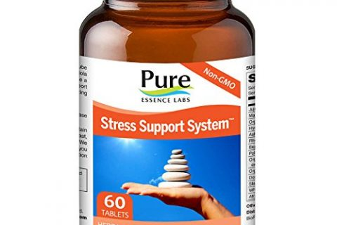 60 Tablets – Pure Essence Labs Stress – 4 Way Support System