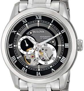 "Bulova Men's 96A119 ""BVA"" Automatic Stainless Steel Watch with Link Bracelet"