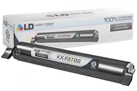 LD Compatible Toner Cartridge Replacement for Panasonic KX-FAT88 Black