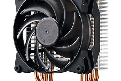 MasterAir Pro 4 CPU Air Cooler with Continuous Direct Contact Technology 2.0 AM4 Bracket Available via Cooler Master USA