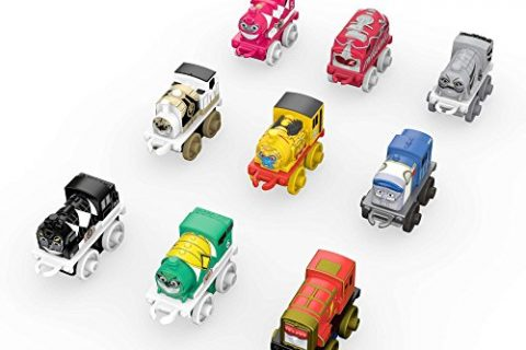Fisher-Price Thomas & Friends MINIS, Mighty Morphin Power Rangers 9-Pack