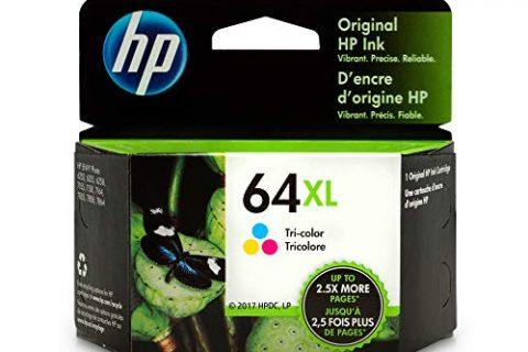 HP 64XL Tri-Color High Yield Original Ink Cartridge N9J91AN for HP Envy Photo 6252 6255 6258 7155 7158 7164 7855 7858 7864 HP Envy 5542