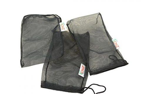 CNZ Universal Media Filter Bag for Aquarium, Ultra Fine, 8″ L, 3 Count