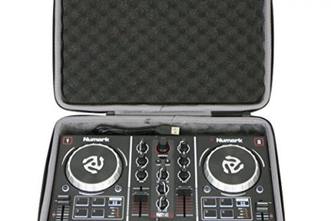 Hard Travel Case for Numark Party Mix | Starter DJ Controller by co2CREA