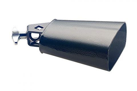 Stagg CB304BK 4.5-Inch Rock Cowbell for Drumset
