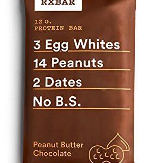 RXBAR Whole Food Protein Bar, Peanut Butter Chocolate, 1.83oz