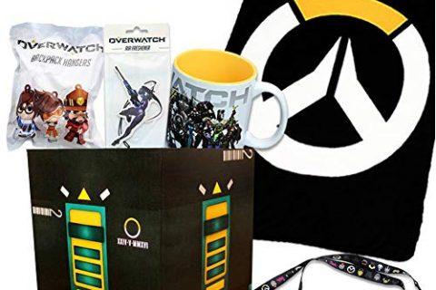 Toynk Overwatch Collectibles |Collectors Looksee Box | Fleece Blanket | Mug | Pins
