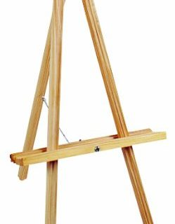 NATURAL WOOD TABLE EASEL-20″ HIGH