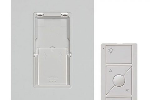 Caseta Wireless Pico Wall-Mounting Kit, PJ2-WALL-WH-L01, White