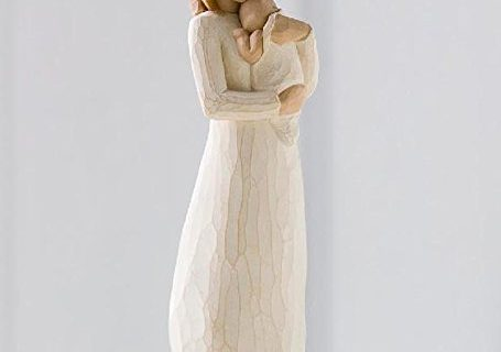 Willow Tree hand-painted sculpted figure, Angel of Mine 26124