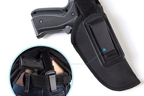 Gun Holster Deep Conceal Inside-The-Waistband for Glock 26/27/29/30/33/42/43 and all similar handguns