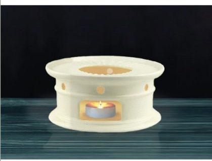 Sun's Tea Tm Super White Ceramic Teapot Warmer White