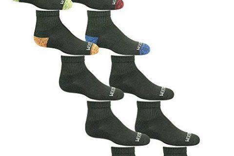 Fruit of the Loom Boy's Ankle Socks 10 Pair