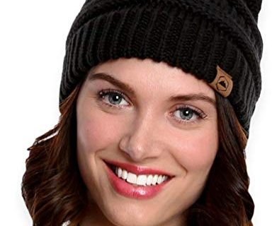 Serious Beanies for Serious Style – Thick, Soft & Warm Chunky Beanie Hats for Women & Men – Tough Headwear Cable Knit Beanie