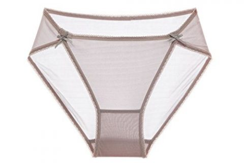 SilRiver Womens 100% Silk Bikini Panties, Sexy Comfortable Hipster Briefs, Breathable Tanga Underpants Lady