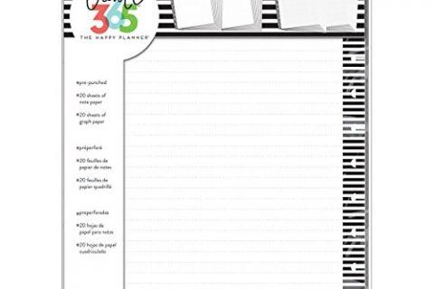me & my BIG ideas  FILB-01 Create 365 The Happy Planner Big Planner Filler, Big Fill Paper